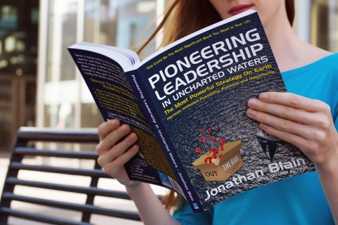 Pioneering Leadership in Uncharted Waters Book by Jonathan Blain