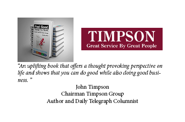 John Timpson, Chairman Timpsons Group, Author and Daily Telegraph Columnist